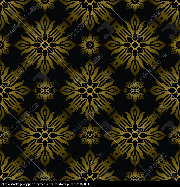 Inca Fliesen Gold Lizenzfreies Bild 1362881 Bildagentur