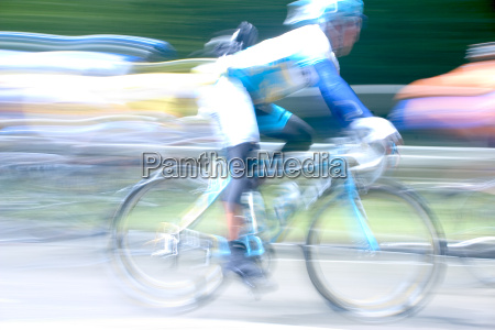 cyclists in race