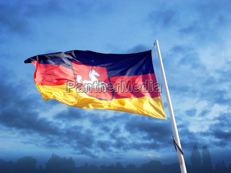 flagge fahne niedersachsen bundesland