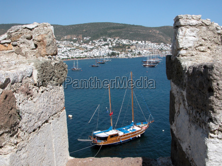 bodrum yacht by the st