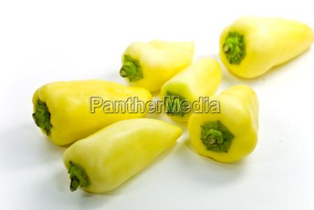 gelbe spitzpaprika