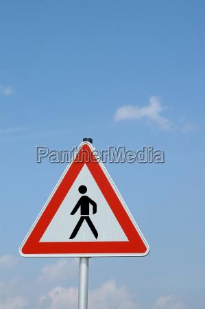 attention pedestrians