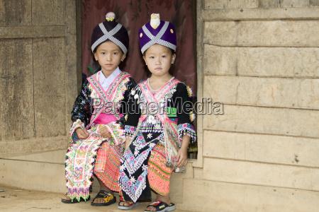 laos hmong maedchen
