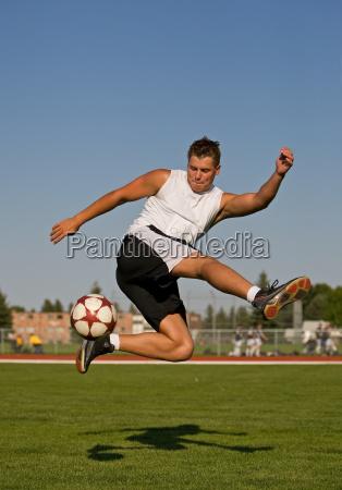 soccer trick shot