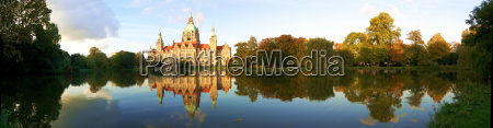 neues rathaus hannover panorama