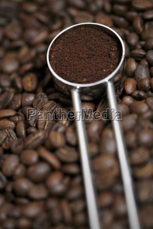 kaffeelot gefuellt