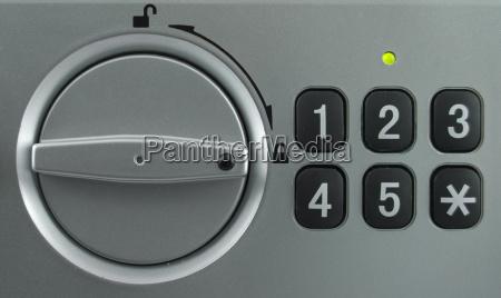 sicherheitsschloss tastatur