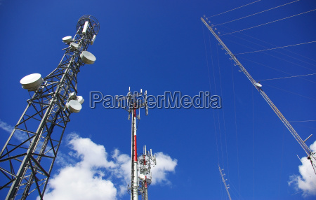 tuerme der telekommunikation