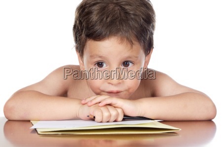 photo of thoughtful boy