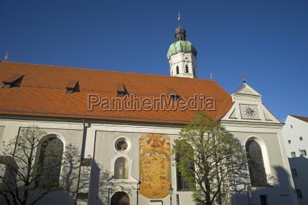 jakobskirche in dachau in bayern