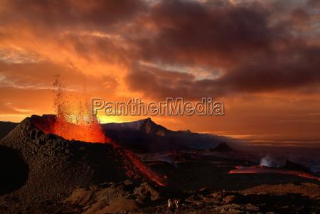 piton de la fournaise vulkan reunion