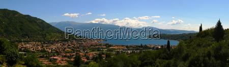 italien panorama von salo am