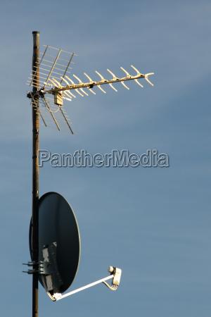antenne und sat spiegel
