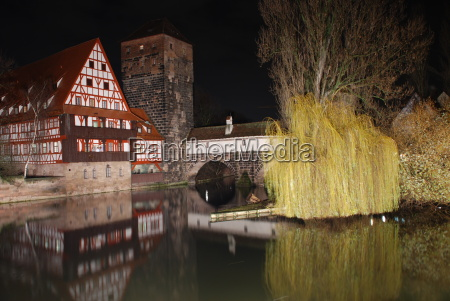 executioner steg nuremberg at night