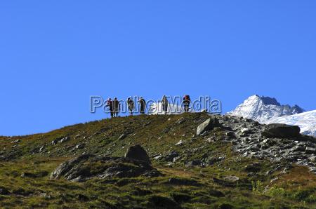 wanderung in den alpen schweiz