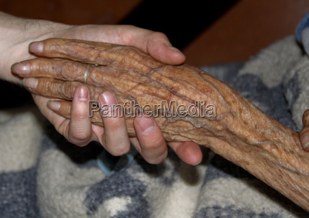 connected hands of generations