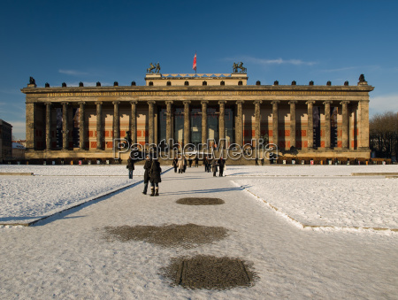 altes museum winter