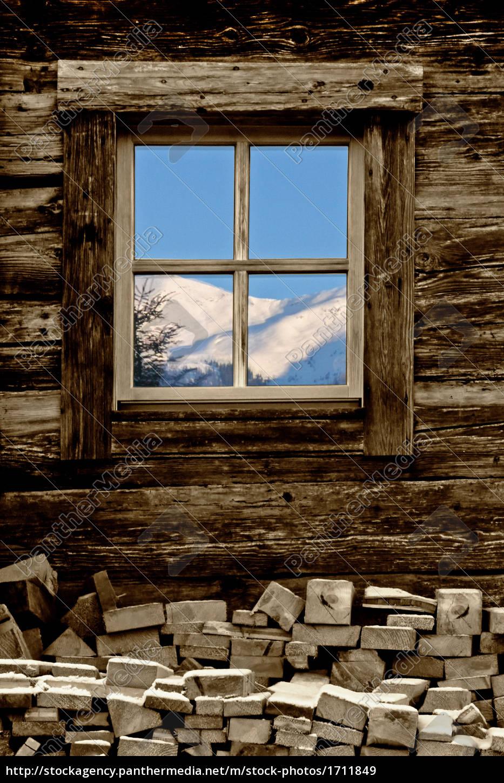 winterfenster lizenzfreies bild 1711849 bildagentur panthermedia. Black Bedroom Furniture Sets. Home Design Ideas