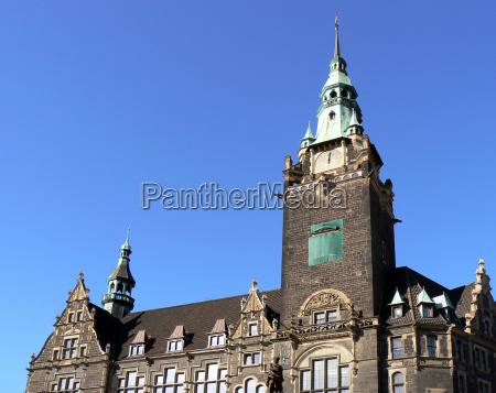 municipio stile di costruzione architettura veduta