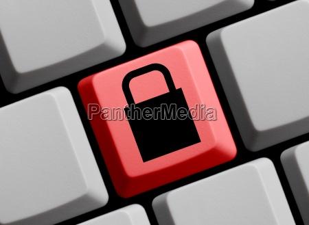schloss sicher ungefaehrlich passwort internet worldwideweb