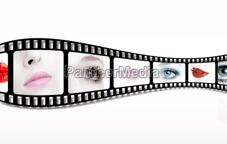 filmstrip close ups