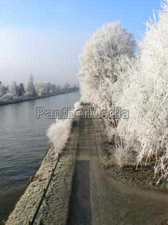 gelo hannover brina inverno bassa sassonia