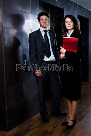geschaeftsleute corporate portrait