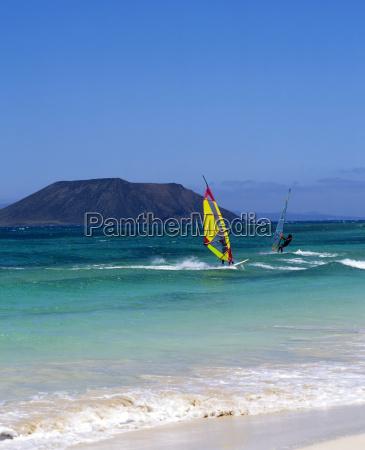 fuerteventura windsurfen