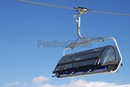6 bubble cableway transport