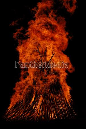 easter bonfire solstice fire easter