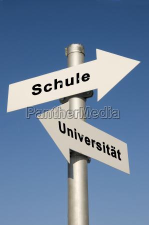 schule und uni