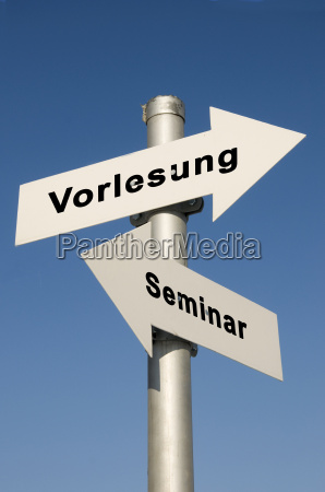 seminare und vorlesungen