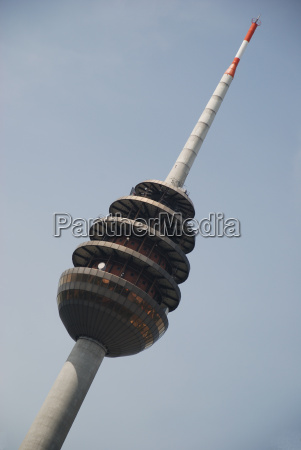 telecommunications tower fernsehturm nuremberg