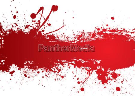 blood strip banner