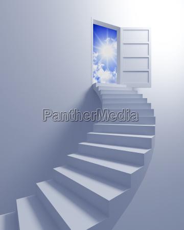 treppe zum freiheit