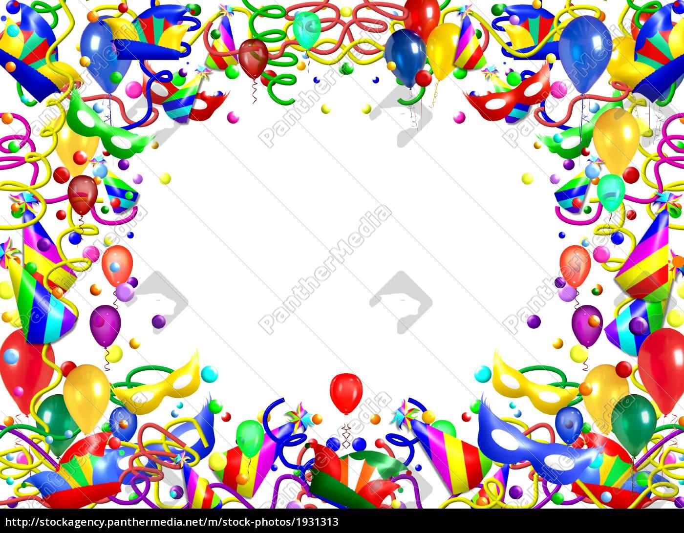 hintergrund fest karte feier party feiern geburtstag - Stockfoto ...