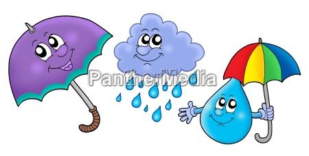 herbst regen bilder