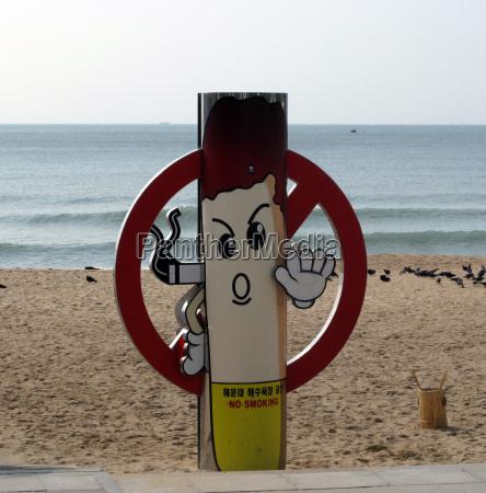 non smoking beach