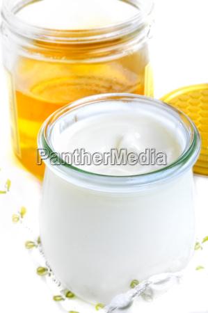 joghurt und honig