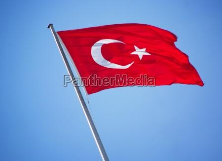 fahne flagge tuerkei