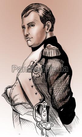 napoleon portraet