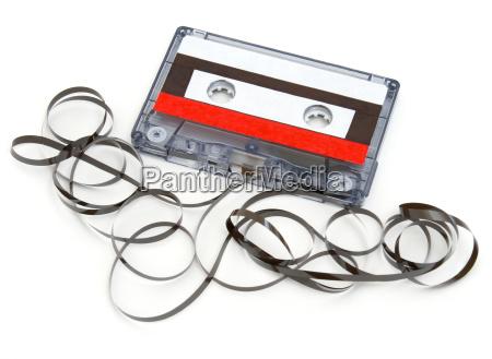 zerstoerte kassette