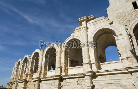 amphitheater in arles in france