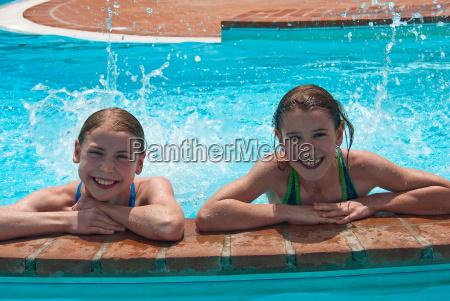 spass am pool
