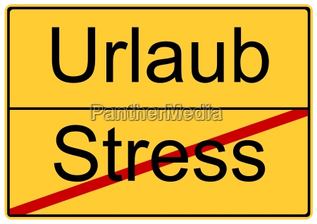 urlaub statt stress