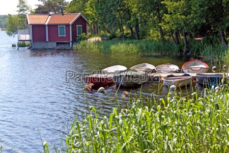 kleininsel im stockholm archipel vaxholm
