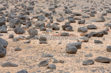 lava rocks on fuerteventura