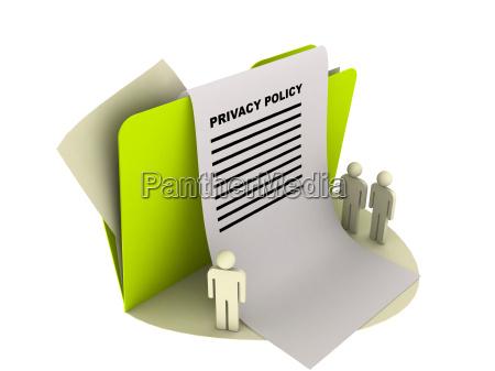 illustration ikon beskyttelse af personlige oplysninger