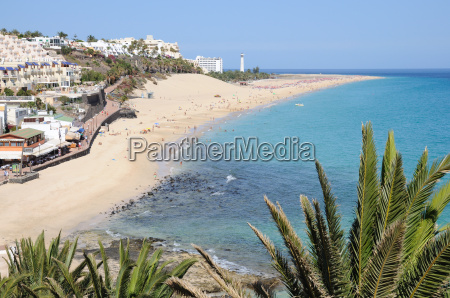 strand von morro jable fuerteventura kanarische