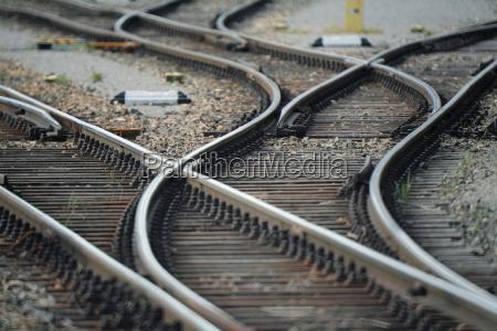 gleisanlage weichen